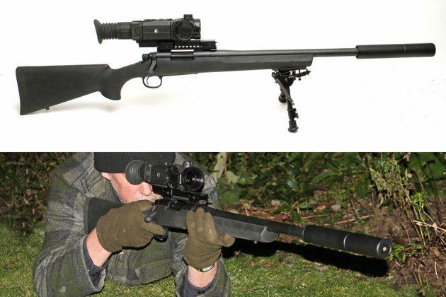 Bolt Action Big Game Hunting Rifles Remington Model 700