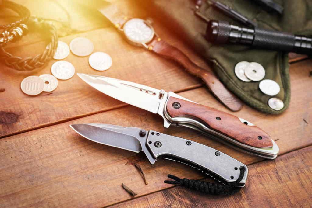 Pocket Knife While Fishing
